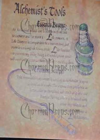alchemist spells